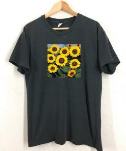 Sun Flower T shirt Adult Unisex Size S-3XL