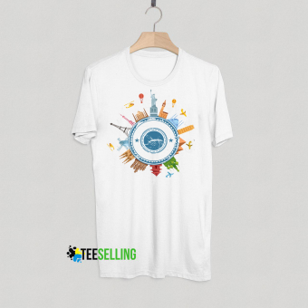 Traveler T shirt Adult Unisex Size S-3XL For Men And Woman