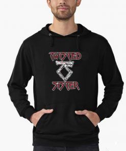 Twisted Sister Hoodie Adult Unisex Size S-3XL