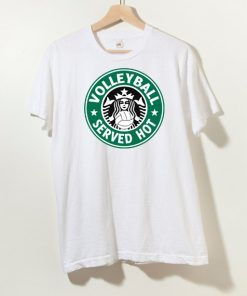 Volleyball Served Hot T shirt Adult Unisex Size S-3XL