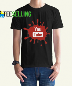Youtube T shirt Adult Unisex Size S-3XL