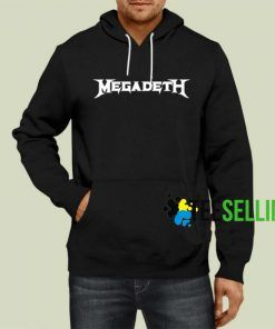 Megadeth Hoodie Adult Unisex Size S-3XL