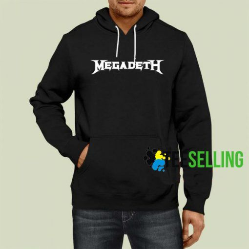 Megadeth Hoodie Adult Unisex Size S 3XL