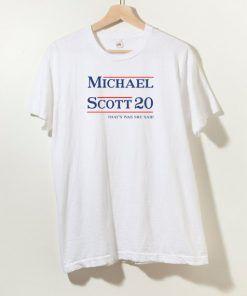Michael Scott The Office T shirt Adult Unisex Size S-3XL