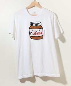 Nutella T shirt Adult Unisex Size S-3XL For Men and Women