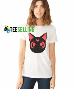 Sailormoon Luna T shirt Adult Unisex Size S-3XL
