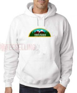 Twin Peaks Sheriff Department Hoodie Adult Unisex Size S-3XL