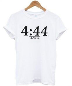4-44- Jay z Time T shirt Adult Unisex Size S-3XL