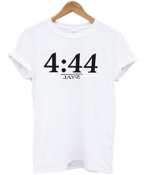 4 44 Jay z Time T shirt Adult Unisex Size S 3XL