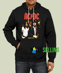 ACDC Highway To Hell Unisex Hoodie Size S-3XL