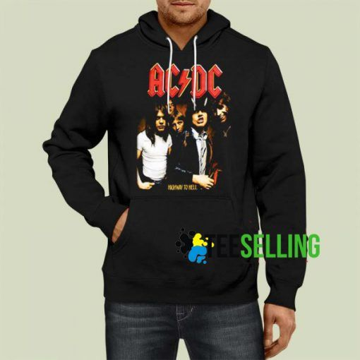 ACDC Highway To Hell Unisex Hoodie Size S 3XL