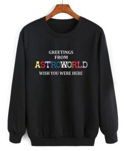 Astroworld Wish You Were Here Sweatshirt Adult Unisex Size S-3XL