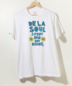 De La Soul 3 Feet High And Rising T shirt Adult Unisex