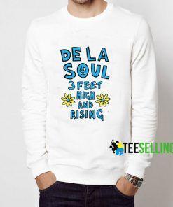 De La Soul 3 Feet Sweatshirt Adult Unisex Size S-3XL