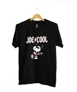 Snoopy Joe Cool Ac Dc Unisex Adult T shirt Size For Men And Women