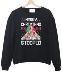 Merry Christmas 69 69 Stoopid Unisex Adult Sweatshirt Size S-3XL