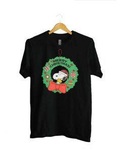 Merry Christmas Snoopy Unisex T Shirt For Men And Women