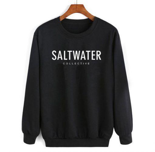 Saltwater Collective Sweatshirt Unisex Adult Size S 3XL