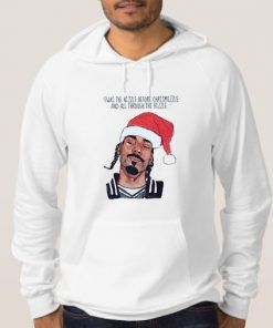 Snoop Dogg Christmas Hoodie Adult Unisex Size S-3XL