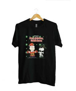 Snoopy Merry Christmas Charlie Brown Size M -2XL For Men And Women