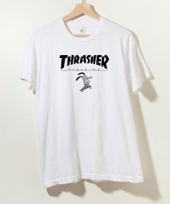 Thrasher X Snoopy Collab T shirt Adult Unisex Size S-3XL
