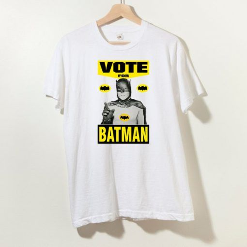 Vote For Batman Unisex Adult T shirt Size S-3XL