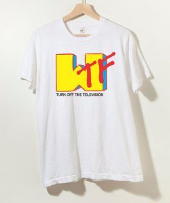 WTF Hapenned To Music Mtv Parody Unisex Adult T shirt