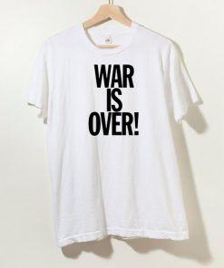Yoko Ono War I s Over T shirt Adult Unisex Size S-3XL