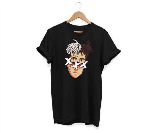 xxxtentacion Face Cut T Shirt Unisex Adult