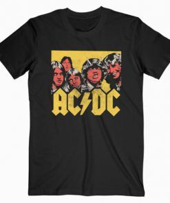 ACDC Vector Band T-Shirt Adult Unisex Size S-3XL