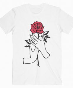 Aesthetic Rose T-Shirt Adult Unisex Size S-3XL
