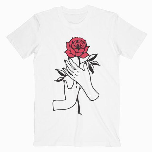 Aesthetic Rose T Shirt Adult Unisex Size S 3XL