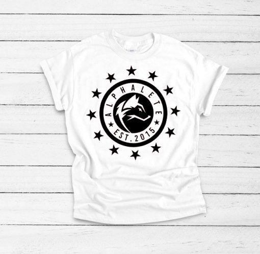 Alphalete Gym Loggo Ring T shirt Unisex Adult Size S-3XL