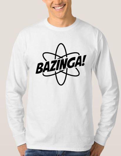 Bazinga Unisex Adult Sweatshirt Size S 3XL