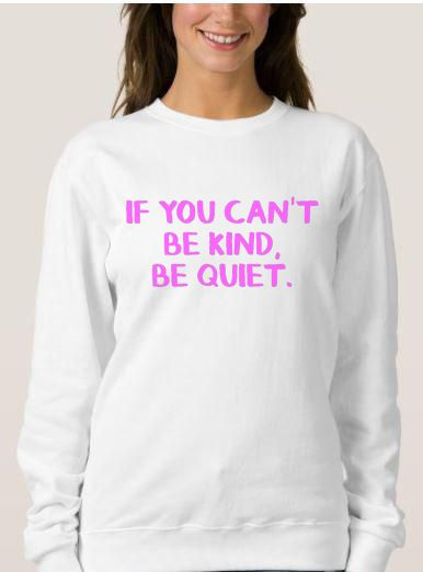 Be Kind Unisex Adult Sweatshirt Size S 3XL