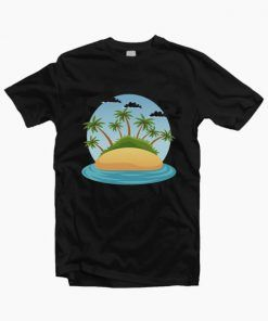 Beach Coconut Palm Summer T-Shirt Adult Unisex Size S-3XL