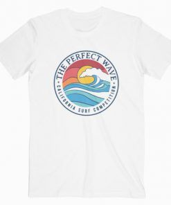 California Perfect Wave Summer T-Shirt Adult Unisex Size S-3XL