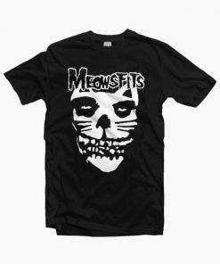Meowsfit cat T Shirt Adult Unisex Size S-3XL