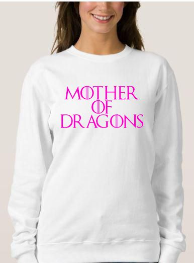 Mother Of Dragons Sweatshirt Adult Unisex Size S 3XL
