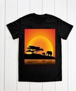 Proud African Savannah Wildlife T shirt Unisex Adult Size S-3XL