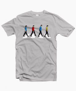 Star Trek Abbey Road T-Shirt Adult Unisex Size S-3XL