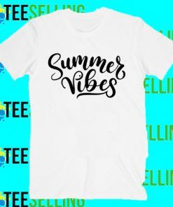 Summer Vibes T-Shirt Adult Unisex Size S-3XL