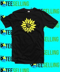 Sun Flower T-Shirt Adult Unisex Size S-3XL