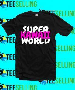 Super Kawaii World T-Shirt Adult Unisex Size S-3XL