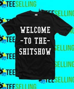 Welcome To The Shitshow Summer Day Bunny T-Shirt Adult Unisex Size S-3XL