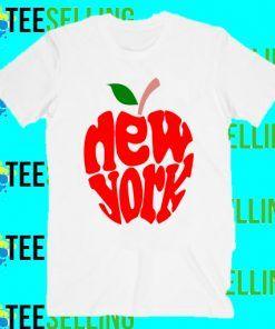 New York Apple T-Shirt Adult Unisex Size S-3XL