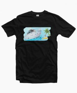 Sale Coconut Beach Summer yacht T Shirt Adult Unisex Size S 3XL