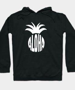 Aloha Pineapple Hoodie Adult Unisex