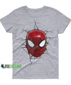 Comic Marvel Face SpiderMan Cheap Graphic Tees T shirt Unisex Adult