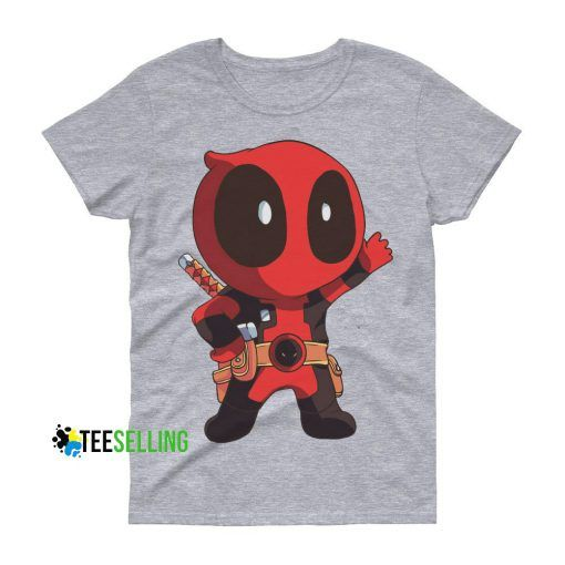 DeadPool Chibi Cheap Graphic Tees T shirt Unisex Adult